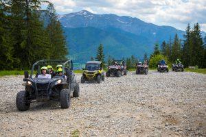 wycieczka po szlakach górskich - jazda grupowa