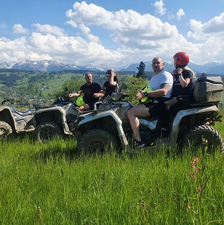 jazda po górach